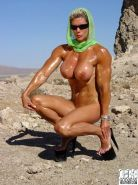 Goddess Heather Female Bodybuilder Dominatrix
