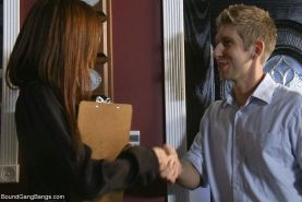 In this super hot fantasy role play update, innocent Jodi sees an add for a Chri