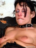 Pierced needle torture and extreme bdsm of crying painslut Crystel Lei in tit to #72066730