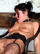 Pierced needle torture and extreme bdsm of crying painslut Crystel Lei in tit to #72066738