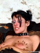 Pierced needle torture and extreme bdsm of crying painslut Crystel Lei in tit to #72066809