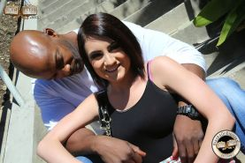 Chase Ryder enjoys her first interracial anal action
