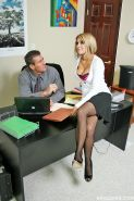 Carmel Moore the busty professional get an office adventure