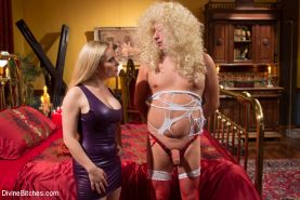Aiden Starr is insanely wicked and humiliating in this brutal feminization updat