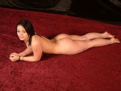 Teen amateur subbie is tied up and suspended
