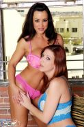 Lisa Ann lesbian action with Lexi Lamour
