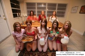 Sorority girls hazing