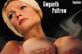 Gwyneth Paltrow showing her pussy and tits and fucking hard
