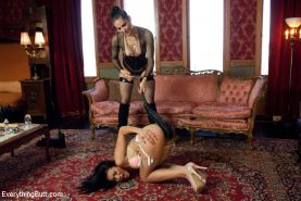 Jayden Lee endures tough punishment and then gets anally fisted!