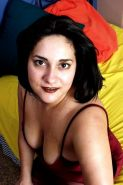 Big titted chubby chick shows shaved pussy and plays with dildos