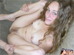 Hot Amateur Red Head Flashing Spreading Her Hairy Pussy And Asshole