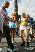 Crazy german sluts getting group fucked on public outdoors