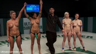Shae Simone and Iona Grace get fucked and humiliated at the hands of their victo