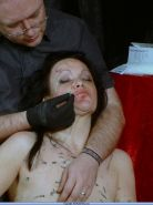 Extreme needle pain and bizarre humiliation of kinky bdsm slavegirl China