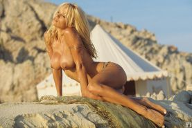 Pamela Anderson shows her perfect body