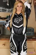Sexy race car driver Ashley Vallone will blow you away