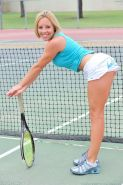 Pictures of a hot tennis teen getting horny