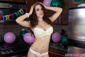 Pictures of Katie Banks celebrating her birthday