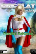 Cosplay babe Kayla dresses up as Power Girl