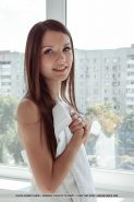 """Gorgeous girl Iva gets naked and spreads her long legs for you in """"Ipheri"""""""