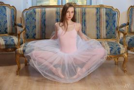 "Beautiful ballerina Annett A gives you her tight pussy in ""Pointe Shoes"""
