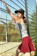 Pictures of german teen Jessy playing on playground