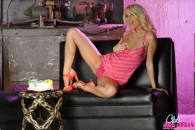 Pictures of teen girl Jana Jordan stripping for her birthday
