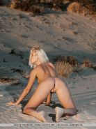 Pictures of teen star Adele B getting naked on the beach #52900543