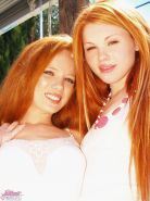 Pictures of Jayme Langford hanging with her hot redhead friend