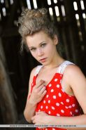 """Blonde teen Helena shows you her stunning nude body in """"Nodarty"""""""