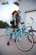 Hot coed Belle Knox gets fucked after a bike ride