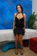 Pictures of gorgeous 18 year-old Mindy giving an exotic massage with a happy ending