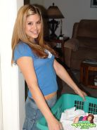 Teen Topanga shows you what\'s up her skirt