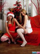 Pictures of Dessi and Dee celebrating xmas together