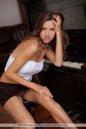 Pictures of Eufrat getting horny while palying the piano