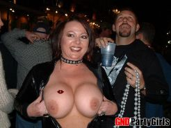 Drunk girls love to flash their tits for beads at Mardi Gras