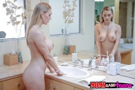 Teen girl Staci Silverstone gets a lesson in how to fuck by Tanya Tate