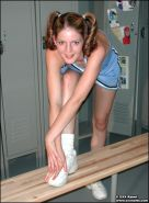 Pictures of teen XXX Raimi touching herself in the change room