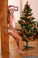 Pictures of teen Courtney Lightspeed celebrating xmas with you