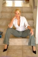 Pictures of teen chick Alison Angel dressed as your hot secretary