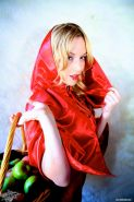 Pictures of Kayden Kross dressed as sexy Little Red Riding Hood