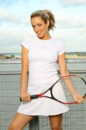 Pictures of teen girl Only Melanie playing a hot game of tennis