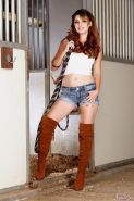 Natasha Malkova is one gorgeous cowgirl who can definitely rope any man!