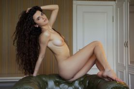 "Brunette girl Erika Rose shows you her nude body in ""TONO"""