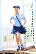 Blonde model Sexy Pattycake is your very sexy Fe-Mail delivery girl