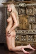 """Blonde babe Barbara D offers you her amazing nude body in """"Magic"""""""