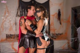 Horny Abella Danger enjoys a spookoy and saucy banging action