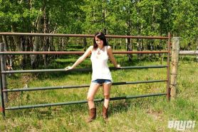 Pictures of Bryci flashing on a farm