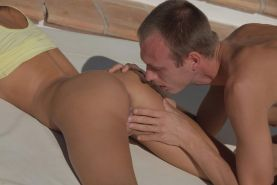 Pictures of Ivy and her real life boyfriend making passionate love outside