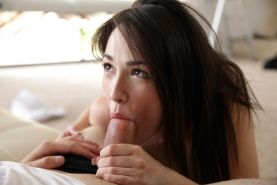 Hot coed Emily Grey tries out for Nubiles by giving a lucky guy the fuck of his life